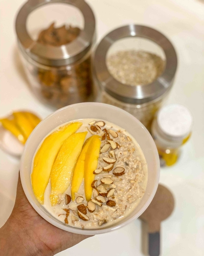 Overnight Protein Oatmeal.