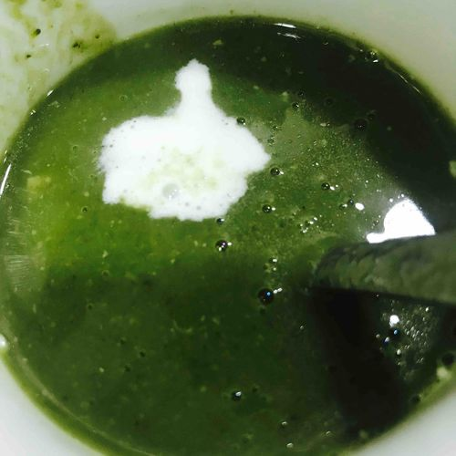 Broccoli & Spinach soup