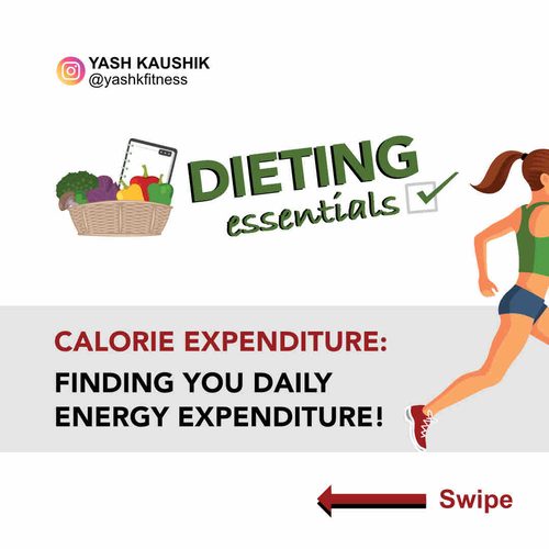 Dieting Essentials: Calories Expenditure - Finding your daily energy expenditure!
