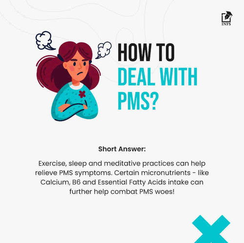 How to deal with PMS?