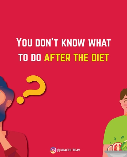 "What about the diet after a ""diet""?"