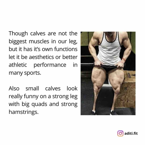 Why your calves never grow?