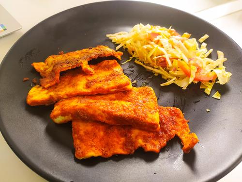 Grilled Paneer