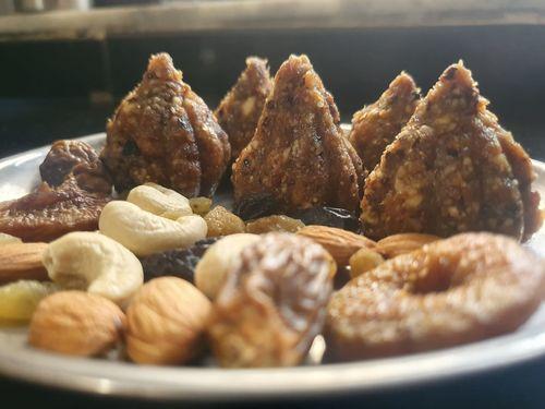 Fruit and nut Modak