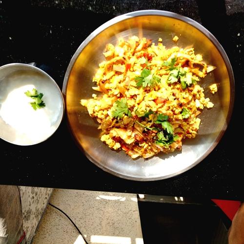 egg kothu chapati