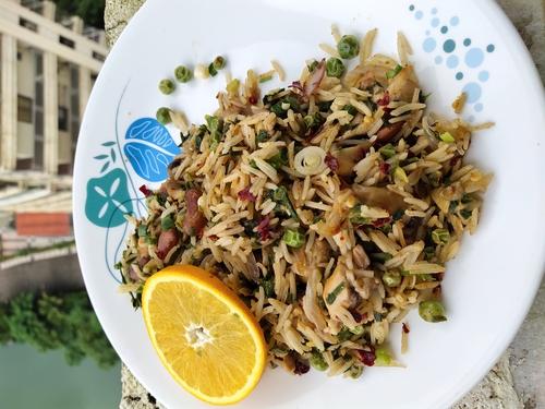 Bean rice with Orange twist