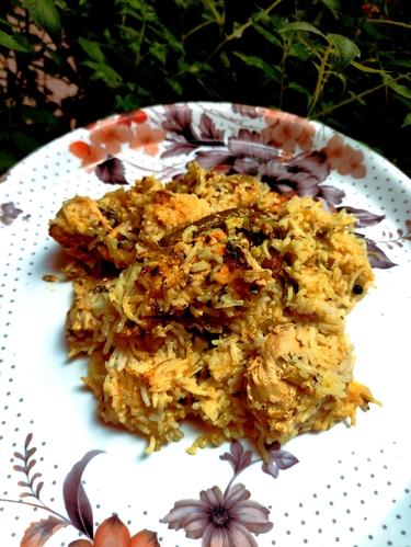 Chicken Biryani (High Protein)