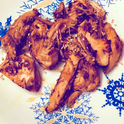honey & soya chicken