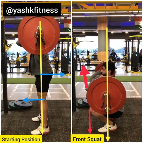 My training cues for the Front Squat!