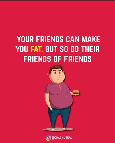 Your Friends are making you fat!