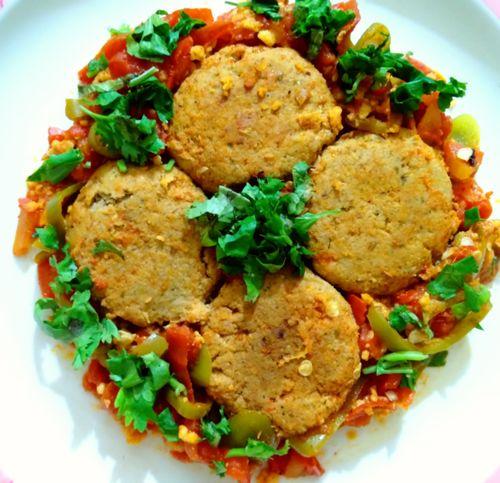 Chicken patties Curry