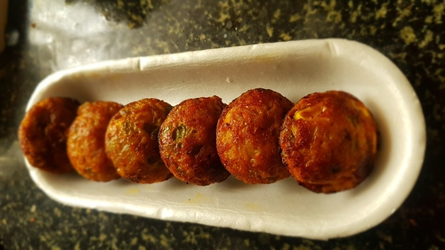 Paneer Fritters (Oil less)