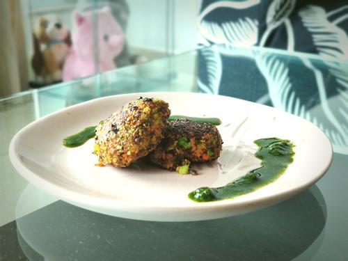 Healthy Vegetable Tikki (No Potato)