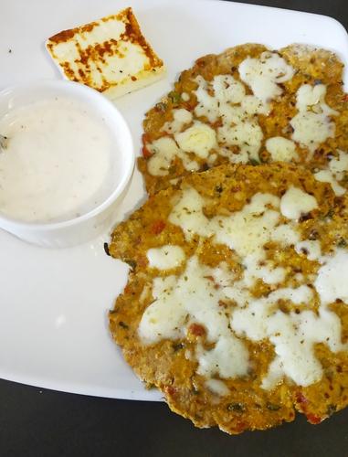 Veggies Soya Paratha