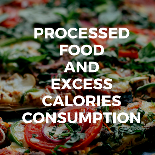 PROCESSED FOOD AND EXCESS CALORIES CONSUMPTION