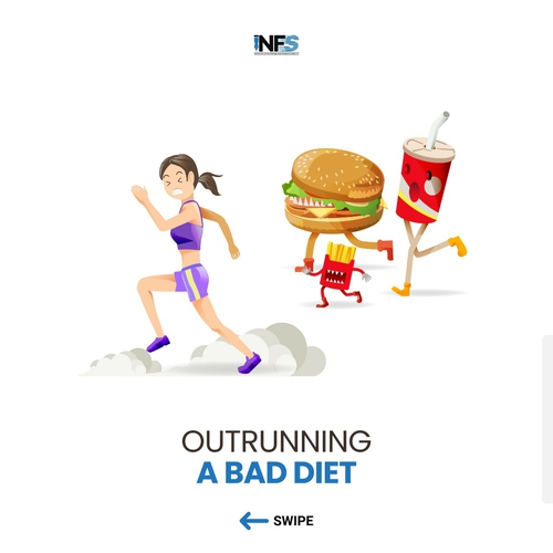 Outrunning a Bad Diet