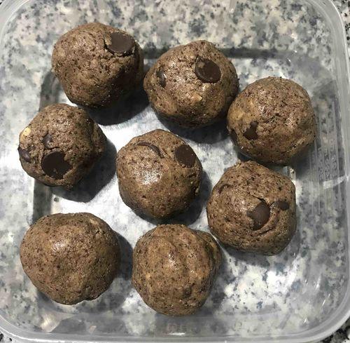 Pre Workout Peanut Butter Protein Balls