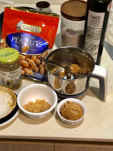 easy homemade peanut butter