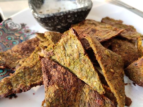 Broccoli Nacho Chips