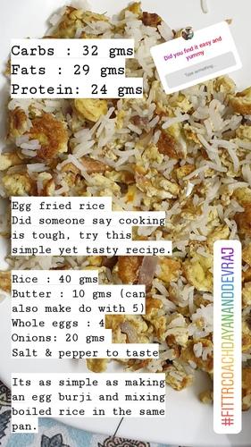 Egg Fried Rice (basic)