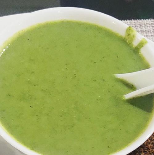 Brocoli Palak Soup