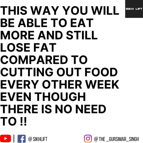 Changing Calories Every Week?