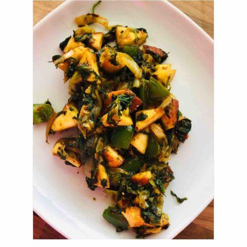 Vegetable Paneer- Your time saver.