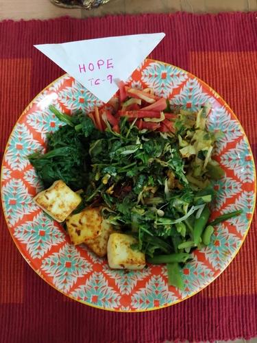 Paneer Moringa Buddha Bowl#TC9- HOPE,mealprep