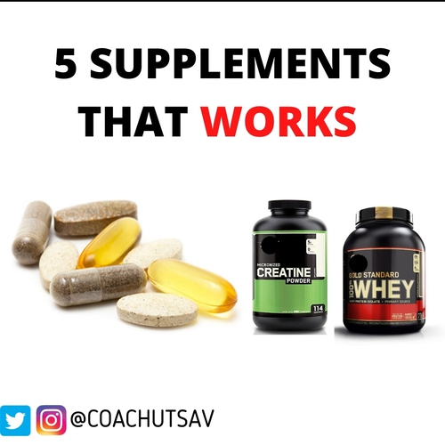 5 Supplement that works!