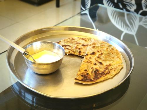 Restaurant-Style  Aloo Paratha