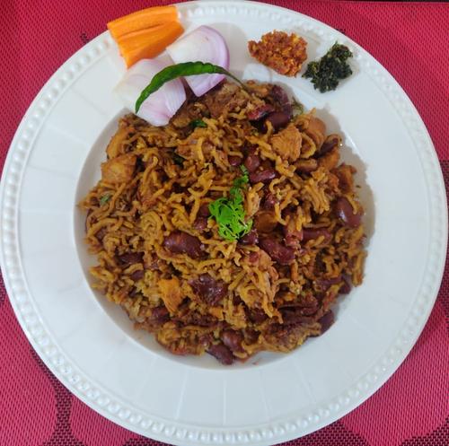 Rajma Chicken Rice - One Pot meal