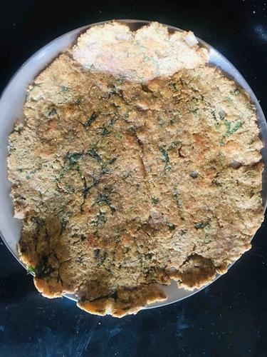 Masala Soya missi roti