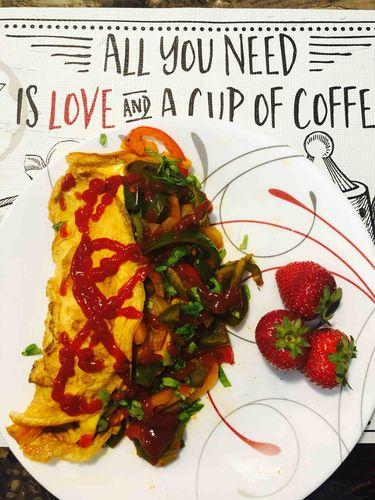 garden fresh omelet