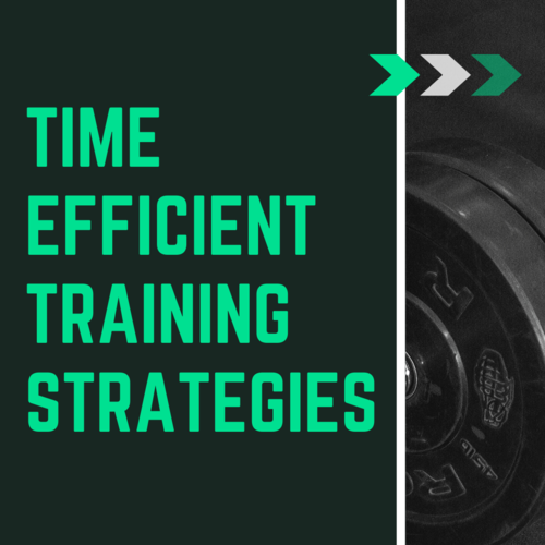 Time Efficient Training Strategies
