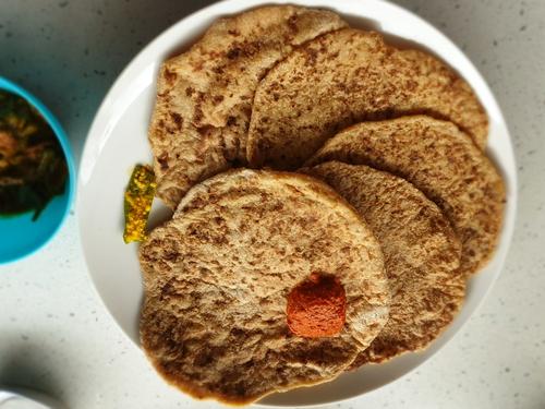 high fiber high protein paratha/roti