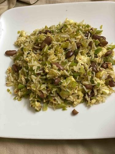 Capsicum Beans Rice