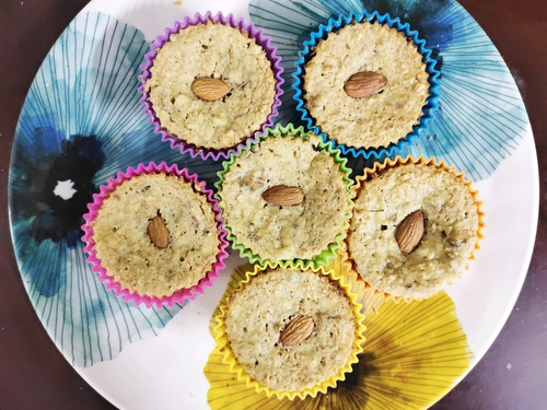 Oats Cupcakes