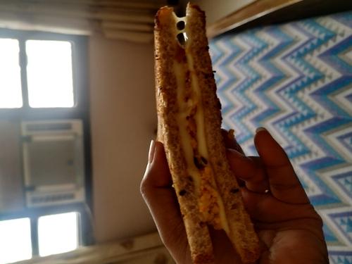 Paneer Junglee Sandwich