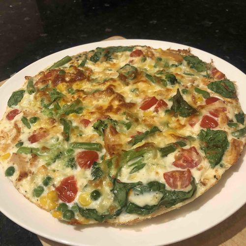 Tandoori Chicken & Veg Egg White Omelette
