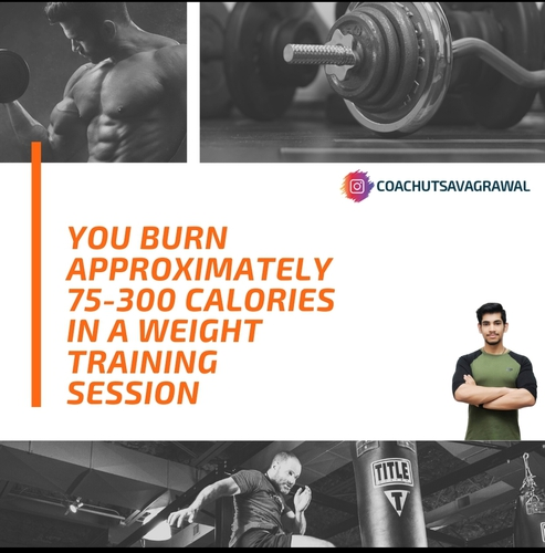 How Many Calories Do You burn In A Weight Training Session?