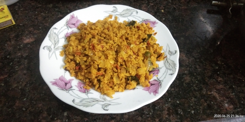 soya granules poha wd cabbage