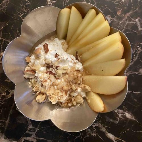 Cottage Cheese dessert bowl