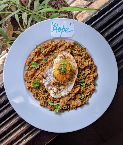 Chicken Kheema Irani Bakery Style