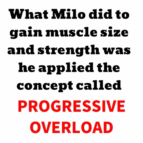 Progressive Overloading