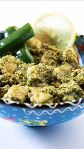 green coriander chicken