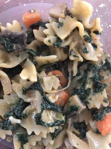 Homemade yummy pasta