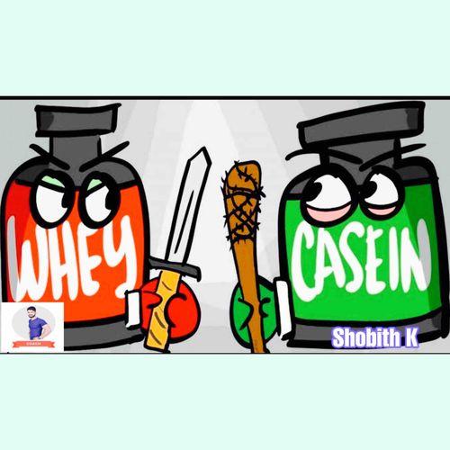 Whey And casein 🥛