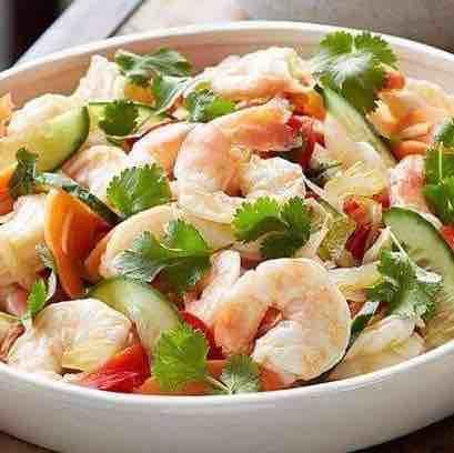 Seafood Marinara Salad