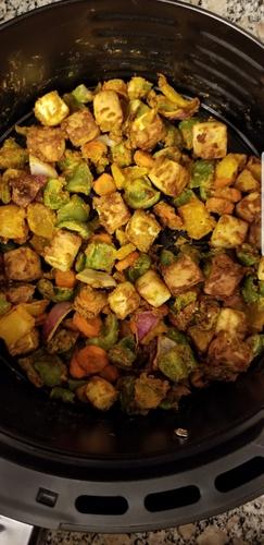 Air fryer roasted veggies