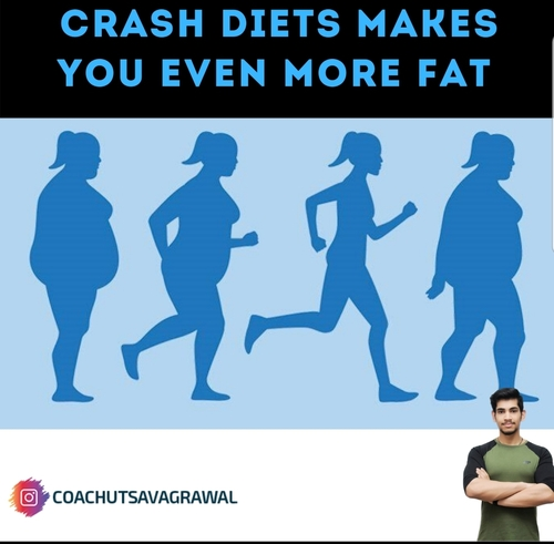 Crash Diets Makes You Fat